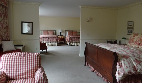 Sylvan Suite at Lake Opechee Inn and Spa, New Hampshire